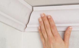 Пенопластовые потолочные плинтусы особенности монтажа